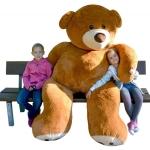 Der größte erhältliche XXL Teddybär ist 2,4 Meter hoch