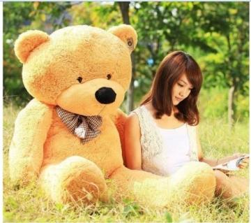 Lanna Siam® Teddybär XXL RIESEN Plüsch-Teddybär 140 cm - 1