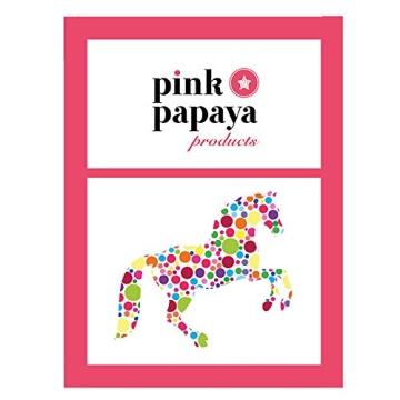 Pink Papaya Steckenpferd, Mr. Brownie, braunes Steckenpferd aus Plüsch mit blonder Mähne und Soundeffekten