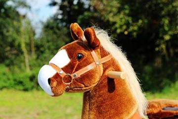 """Ponycycle """" Amadeus """" – Schaukelpferd auf Rollen"""