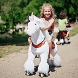 """Ponycycle """" Sternschnuppe """" Einhorn, Pony auf Rollen fahrendes Schaukelpferd und Kuscheltier für Ihr Kind von MyPony (Medium) - 1"""