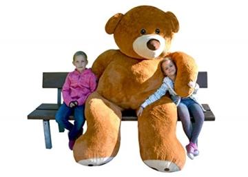Riesenteddybär Riesenteddy Plüsch Teddybär Teddy liegend sitzend Übergroße 250 cm - 1