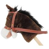 """Steckenpferd """" My little Pony"""" chocolate, super süss, mit Funktion Gewieher und Galoppgeräusch - 1"""
