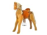 großes Kidsmax Holzpferd mit Sattel und Zaum NEU - 1
