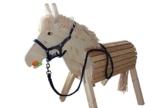 Helga Kreft Holzpferd Susi, Spielpferd, Gartenpferd mit absenkbarem Kopf - 1